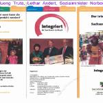 Huong Trute, Lothar Andert, Sozialminister Norbert Bischoff